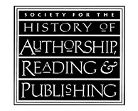 Society for the History of Authorship, Reading and Publishing
